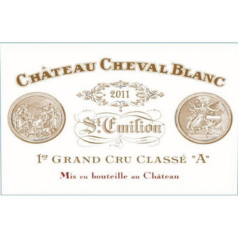 Chateau Cheval Blanc  2011 Front Label