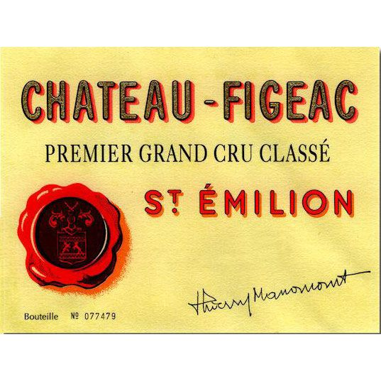 Chateau Figeac  2011 Front Label