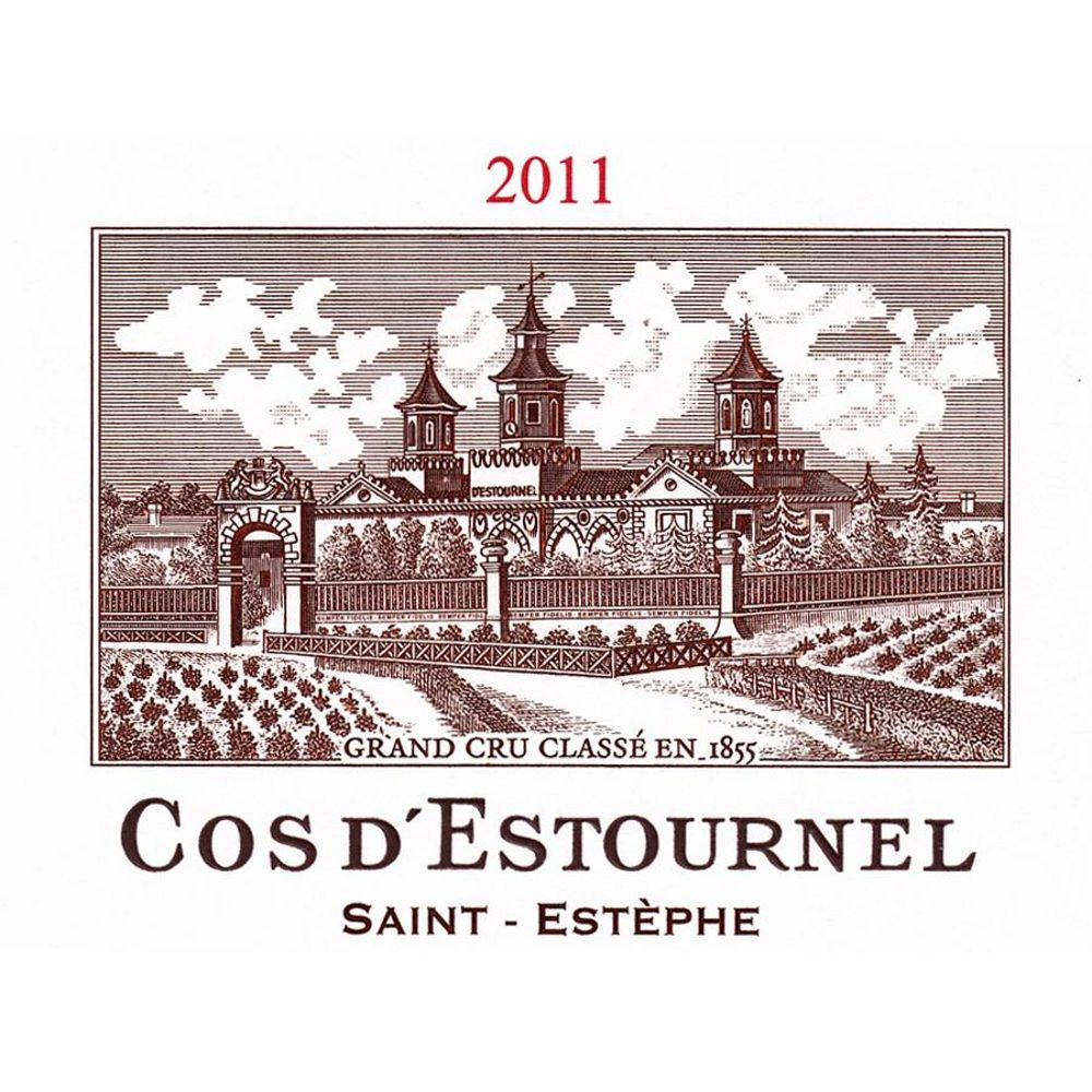 Chateau Cos d'Estournel  2011 Front Label