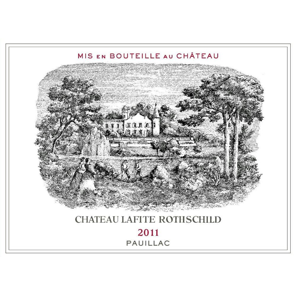 Chateau Lafite Rothschild  2011 Front Label