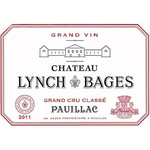 Chateau Lynch-Bages  2011 Front Label