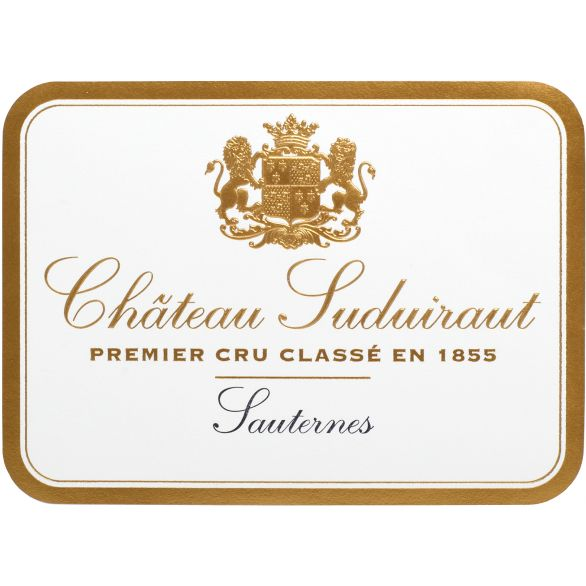 Chateau Suduiraut Sauternes (375ML half-bottle) 2011 Front Label
