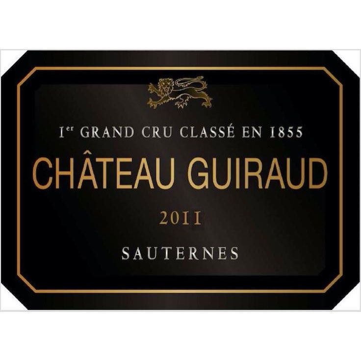 Chateau Guiraud Sauternes (375ML half-bottle) 2011 Front Label