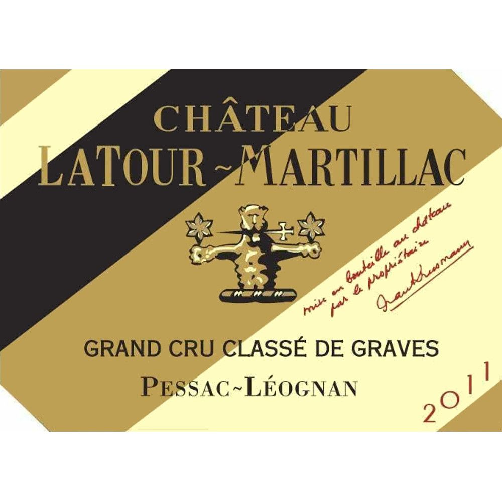 Chateau LaTour-Martillac  2011 Front Label
