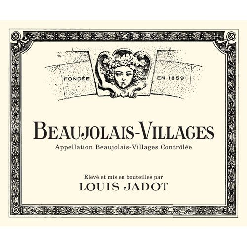 Louis Jadot Beaujolais Villages 2012 Front Label