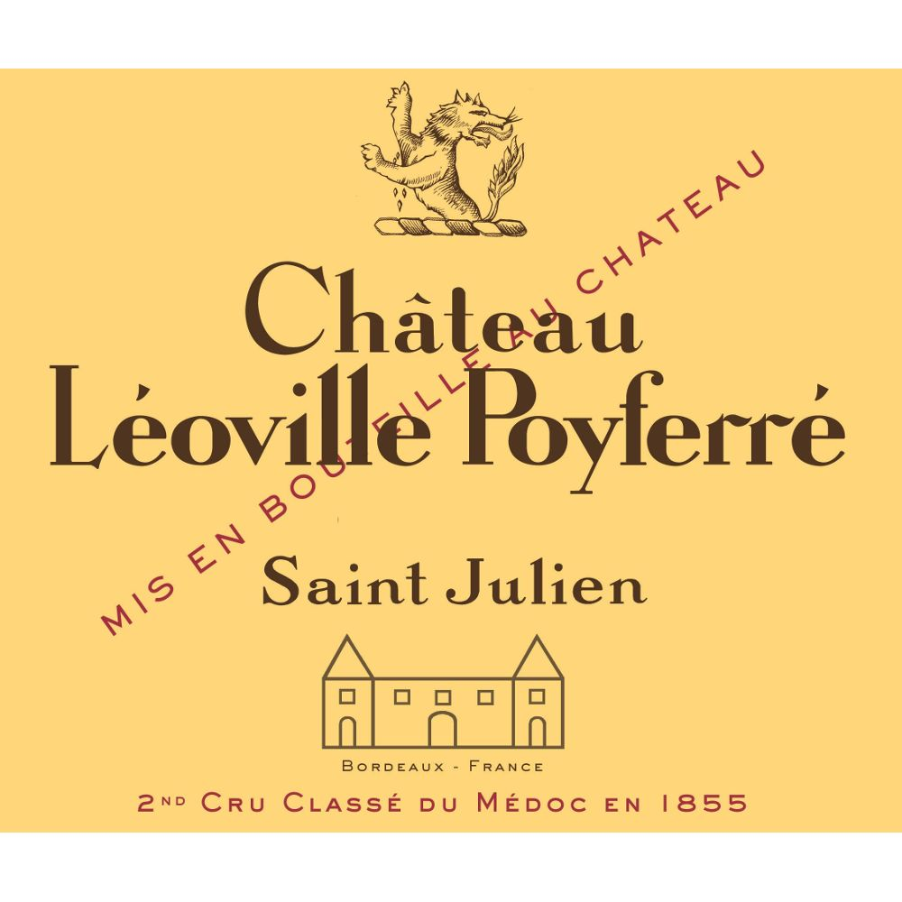 Chateau Leoville Poyferre  2011 Front Label