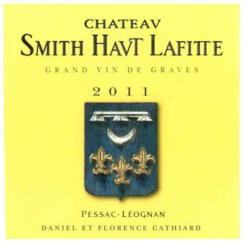 Chateau Smith Haut Lafitte  2011 Front Label