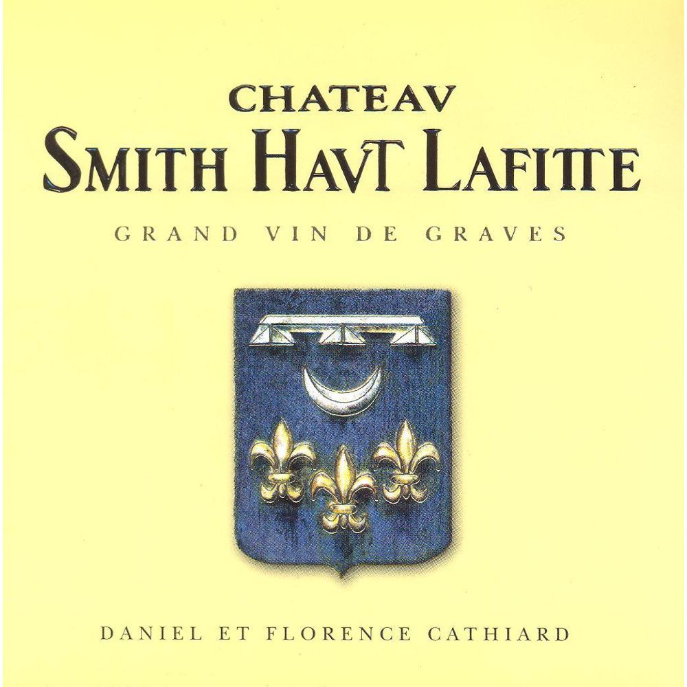 Chateau Smith Haut Lafitte Blanc 2011 Front Label