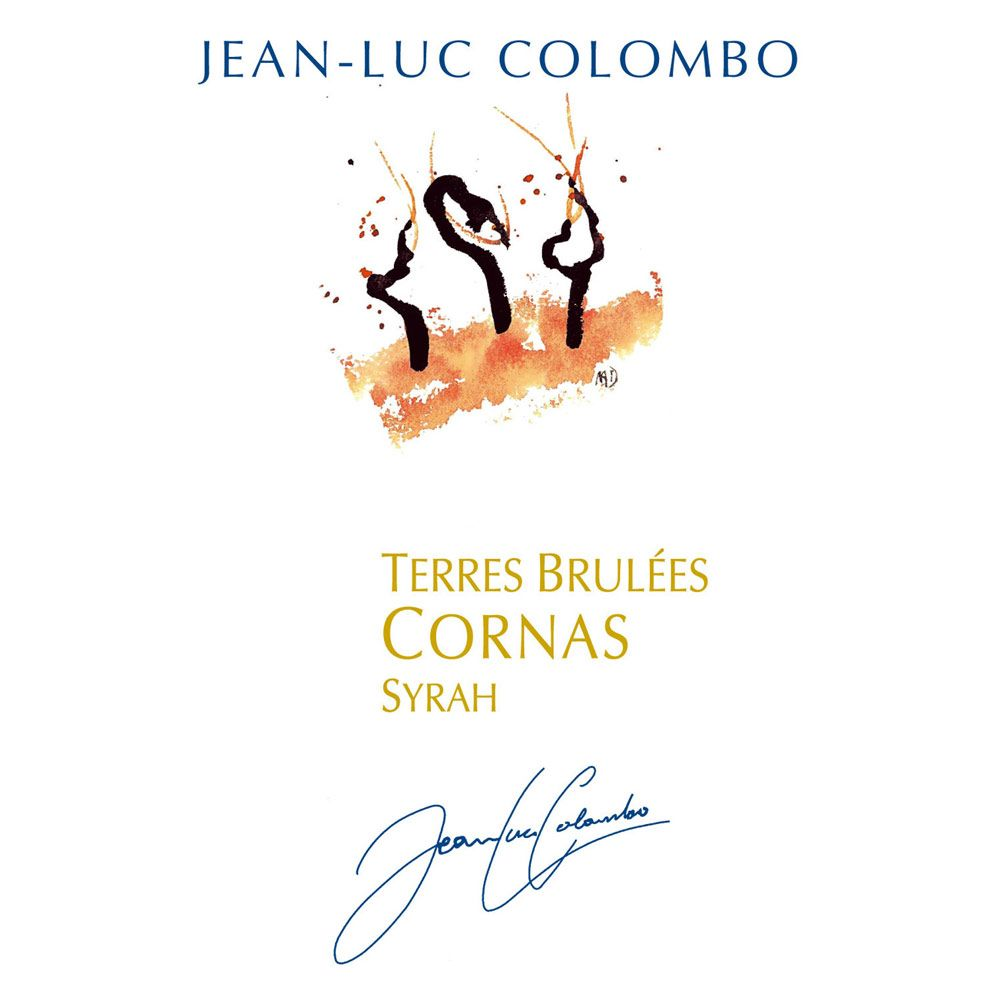 Jean-Luc Colombo Cornas Les Terres Brulees 2011 Front Label
