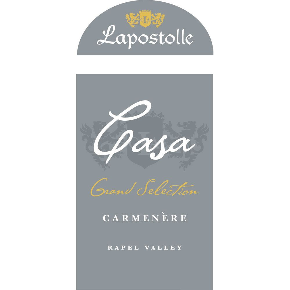 Lapostolle Grand Selection Carmenere 2012 Front Label