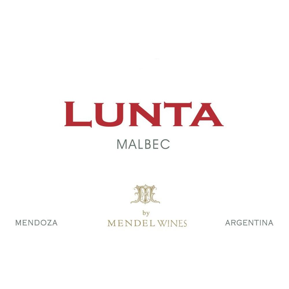 Lunta Malbec 2011 Front Label
