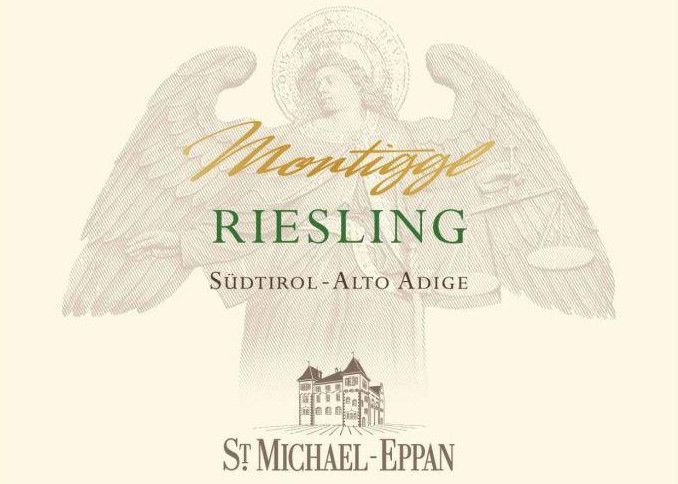 St. Michael-Eppan Sudtirol - Alto Adige Montiggl Riesling 2015 Front Label