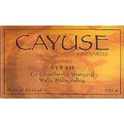 Cayuse En Chamberlin Syrah 2004 Front Label