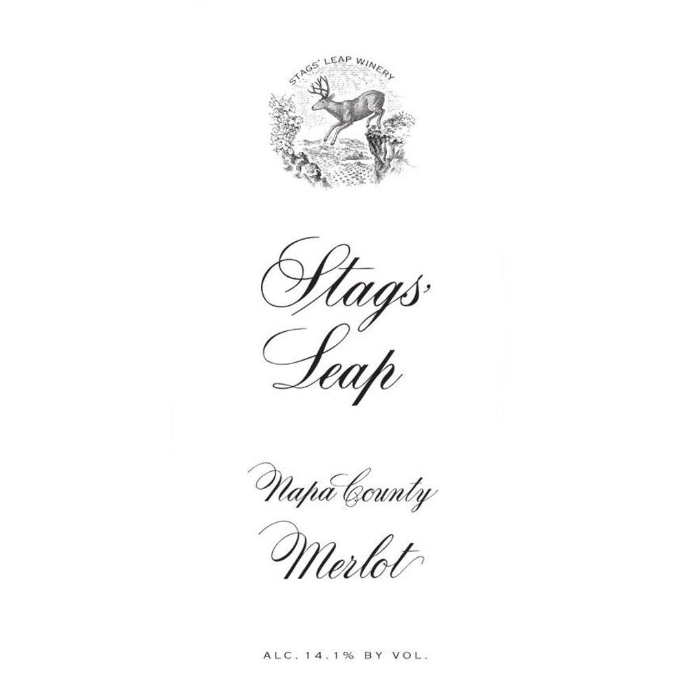 Stags' Leap Winery Merlot 2011 Front Label