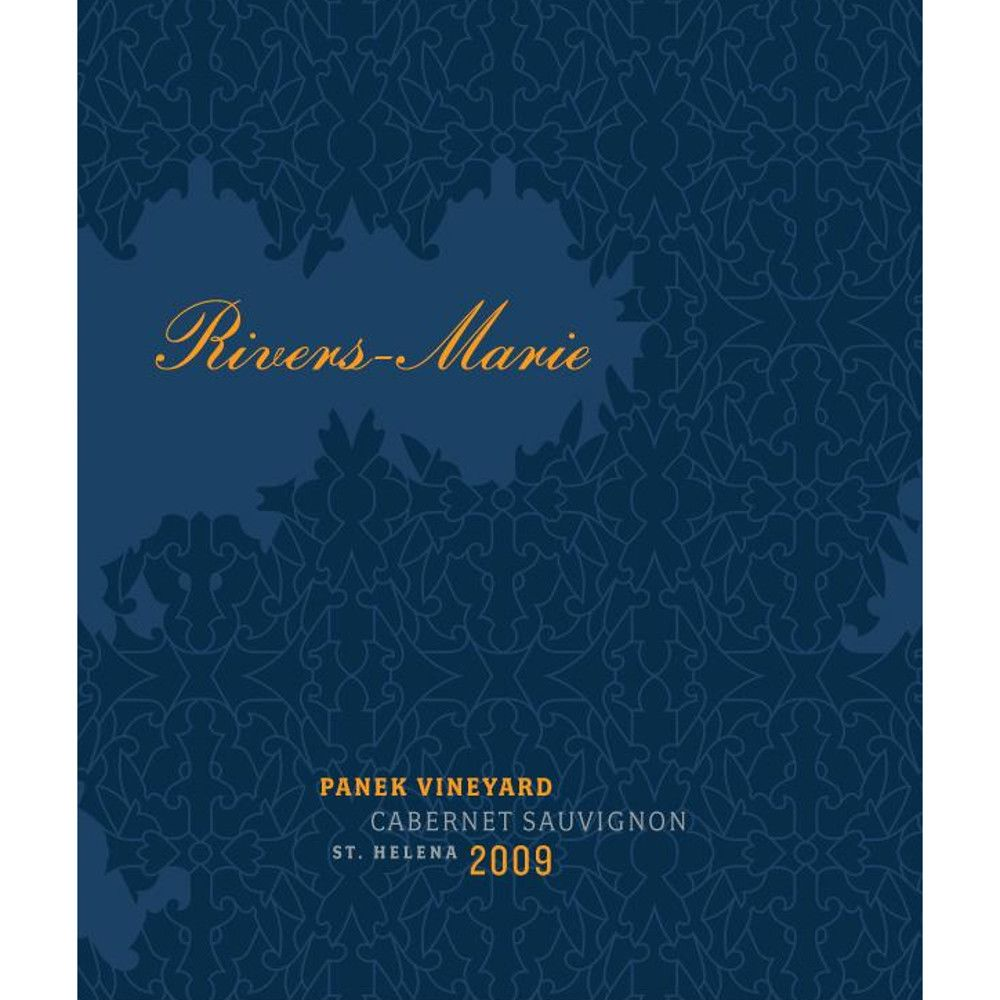 Rivers-Marie Panek Vineyard Cabernet Sauvignon 2009 Front Label