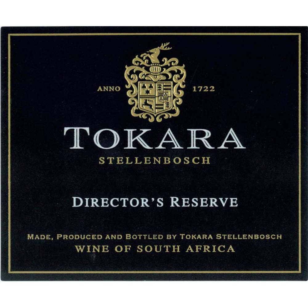 Tokara Director's Reserve White 2012 Front Label