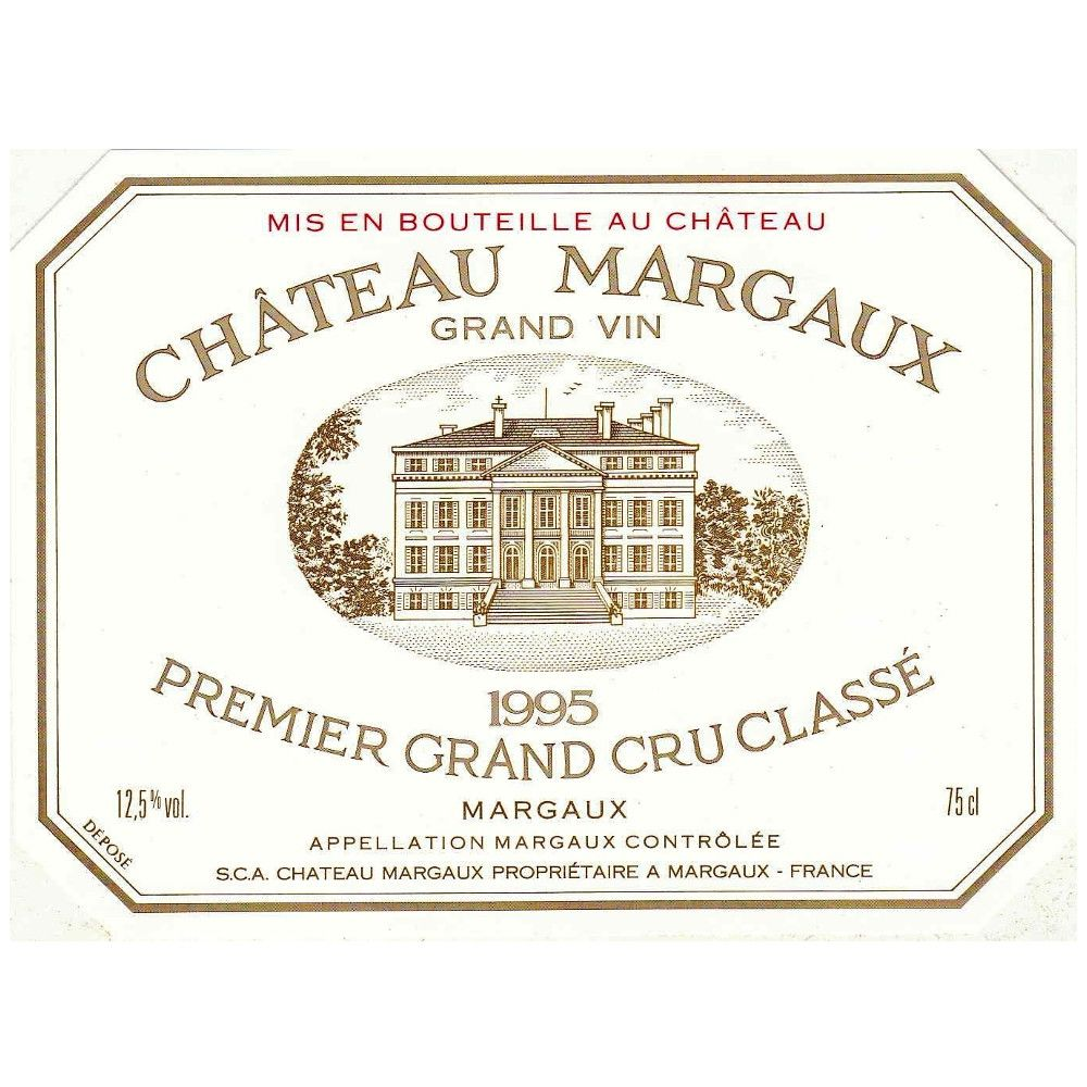 Chateau Margaux  1995 Front Label