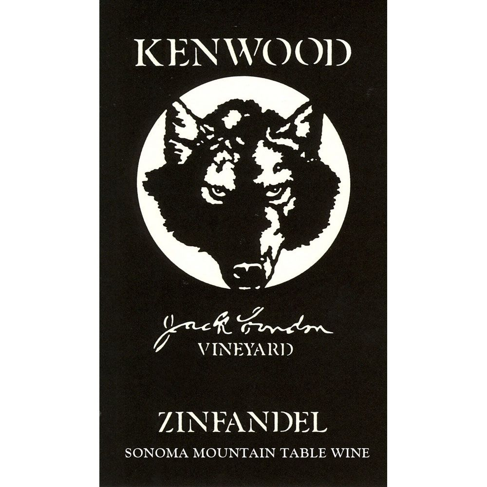 Kenwood Jack London Vineyard Zinfandel 2012 Front Label