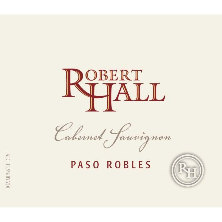 Robert Hall Cabernet Sauvignon 2012 Front Label