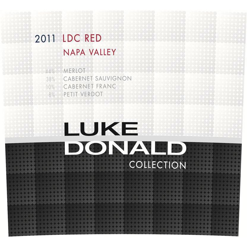 Luke Donald Collection Claret 2011 Front Label