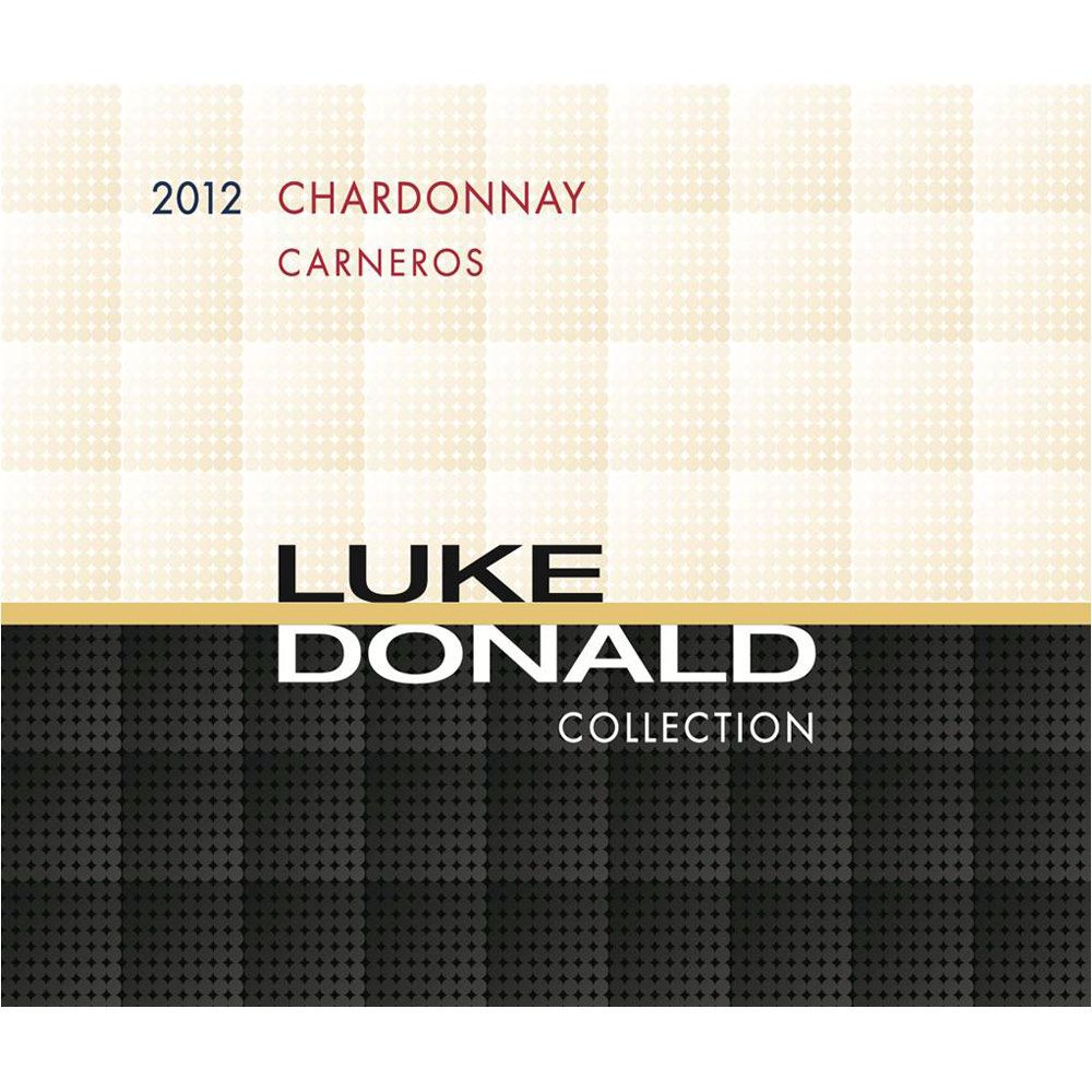 Luke Donald Collection Chardonnay 2012 Front Label