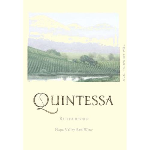 Quintessa (375ML half-bottle) 2010 Front Label