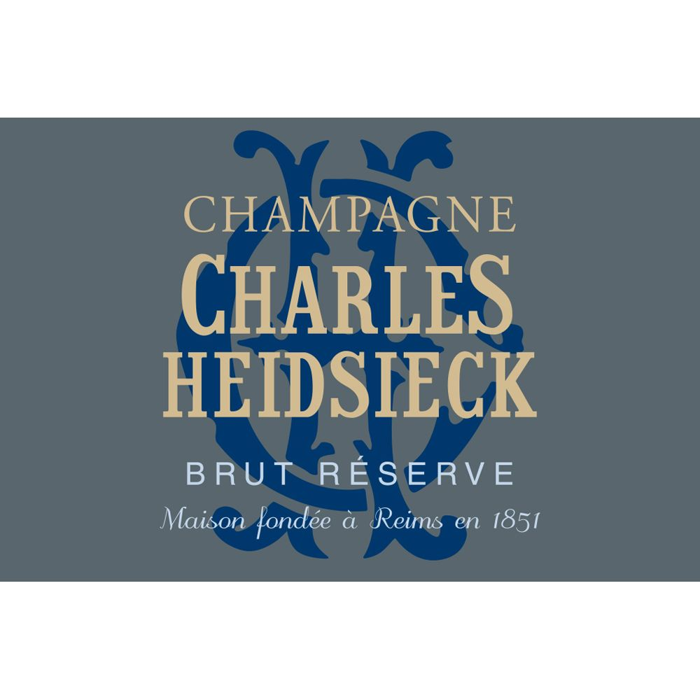 Charles Heidsieck Brut Reserve (375ML half-bottle) Front Label