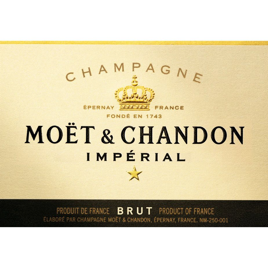 Moet & Chandon Imperial Brut (375ML half-bottle) Front Label