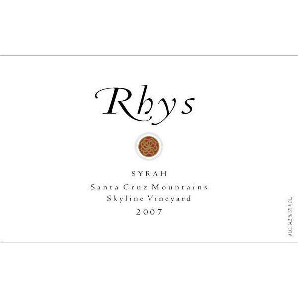 Rhys Vineyards Skyline Vineyard Syrah 2009 Front Label
