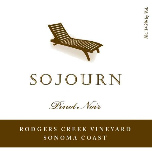 Sojourn Rodgers Creek Pinot Noir 2012 Front Label