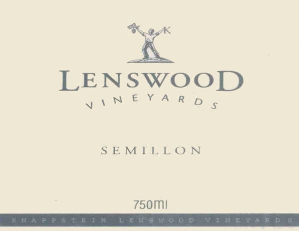 Knappstein Lenswood Vineyards Semillon 2003 Front Label