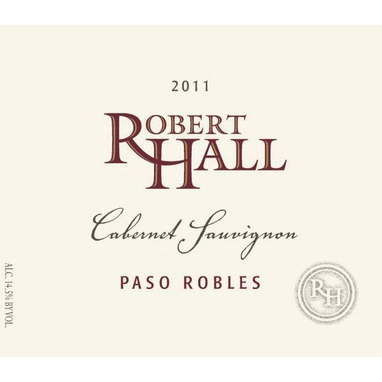 Robert Hall Cabernet Sauvignon 2011 Front Label