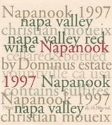 Dominus Napanook Vineyard 1997 Front Label