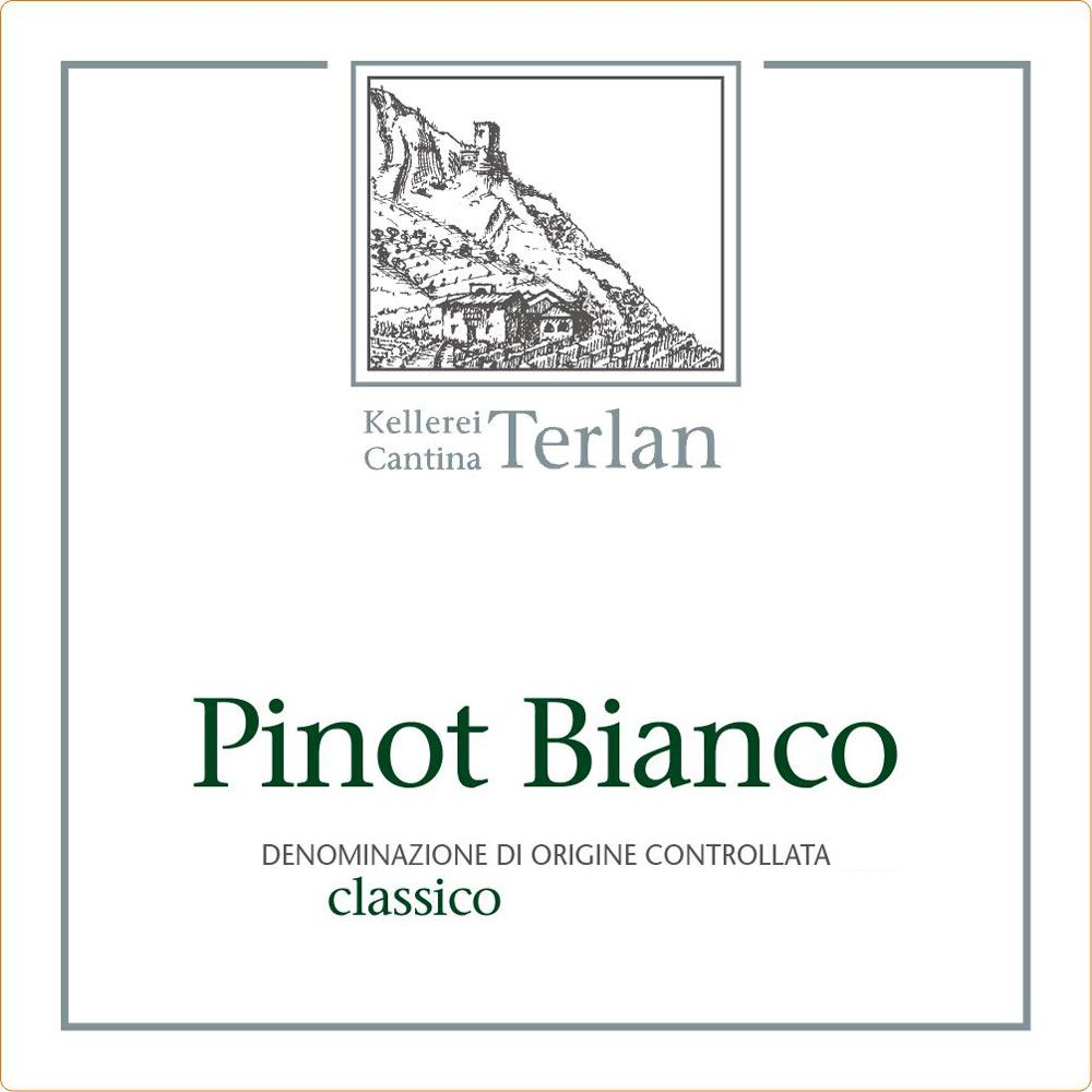 Terlano Pinot Bianco 2012 Front Label