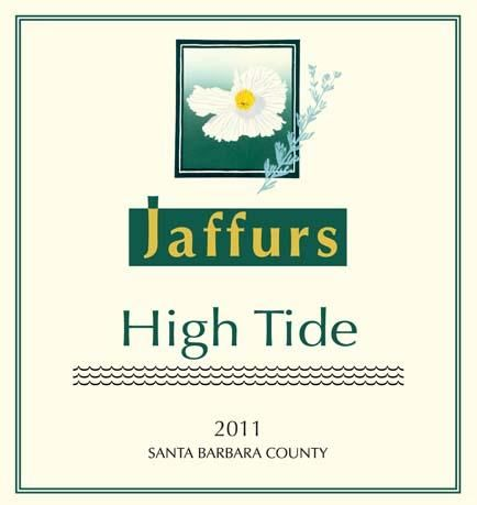 Jaffurs High Tide Red 2011 Front Label