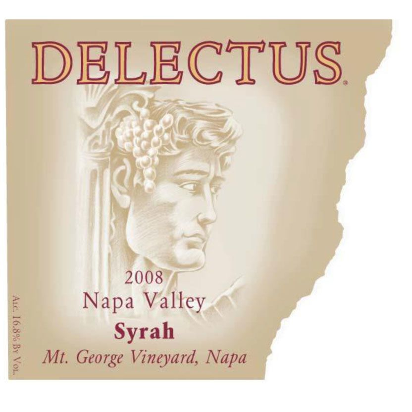 Delectus Mt. George Vineyard Syrah 2004 Front Label