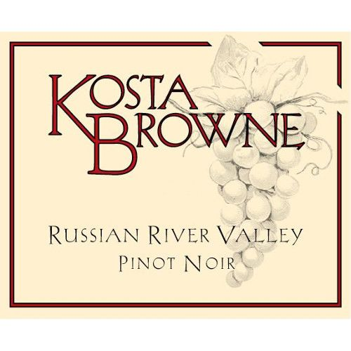 Kosta Browne Russian River Pinot Noir 2012 Front Label