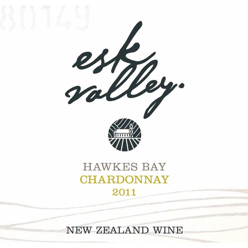 Esk Valley Chardonnay 2011 Front Label