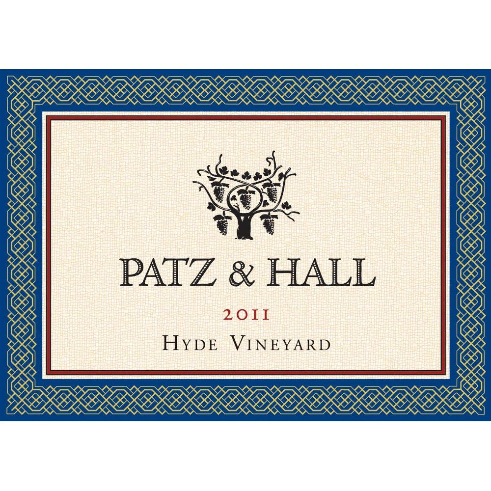 Patz & Hall Hyde Vineyard Chardonnay (375ML half-bottle) 2011 Front Label