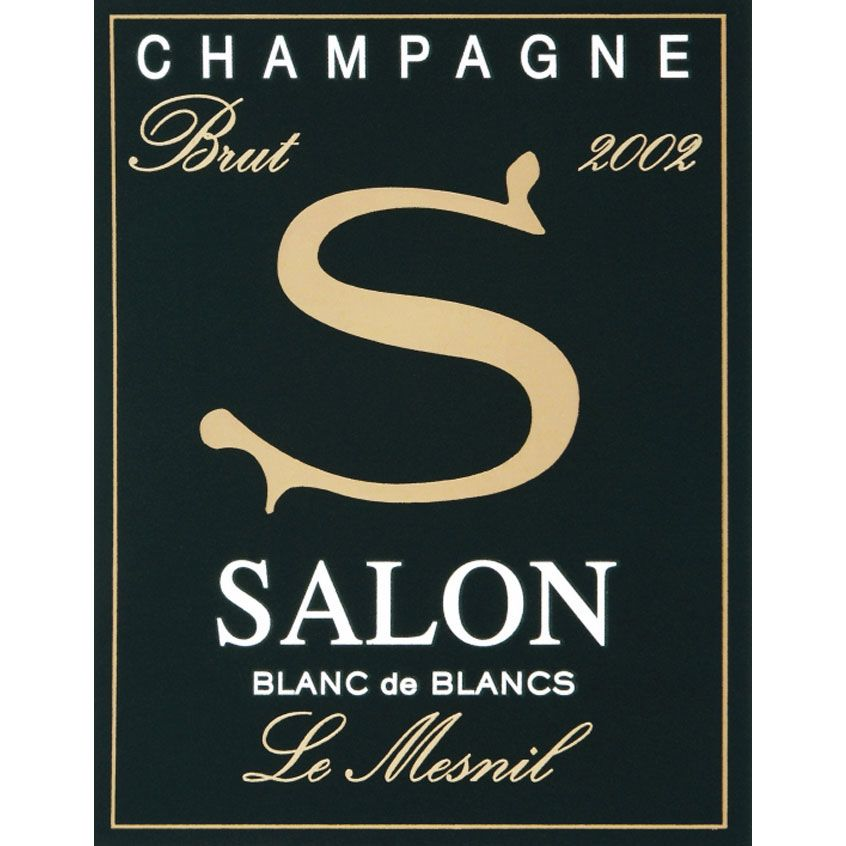 Salon Blanc de Blancs Le Mesnil in Gift Box (1.5 Liter Magnum) 2002 Front Label