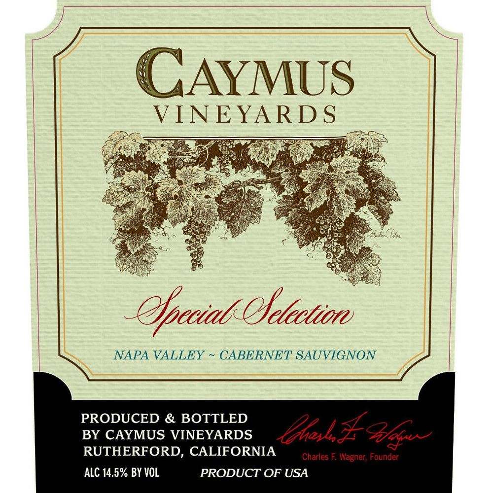 Caymus Special Selection Cabernet Sauvignon (6.0L) 2011 Front Label
