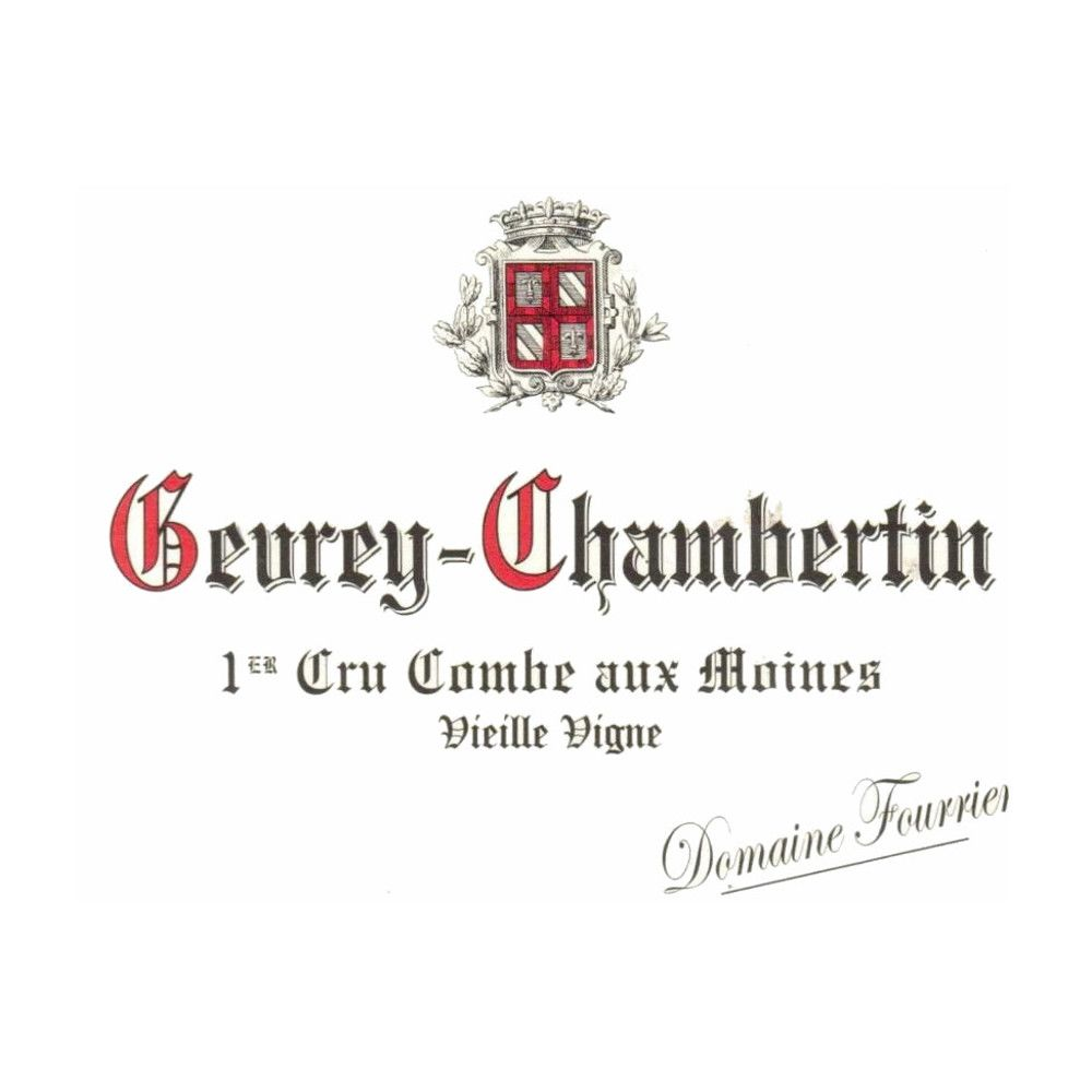 Domaine Fourrier Gevrey Chambertin Premier Cru Combe Aux Moines 2011 Front Label