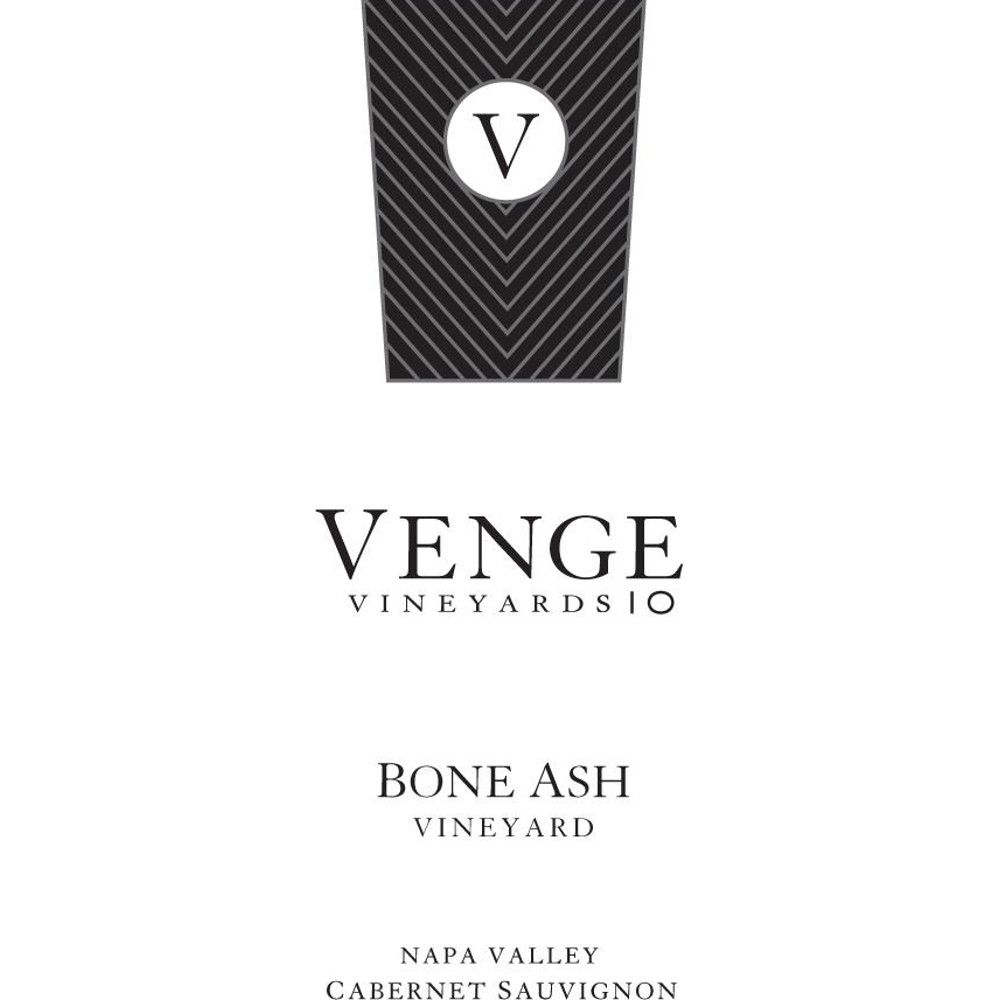 Venge Vineyards Bone Ash Vineyard Cabernet Sauvignon 2011 Front Label