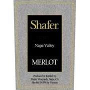 Shafer Napa Valley Merlot (375ML half-bottle) 2011 Front Label
