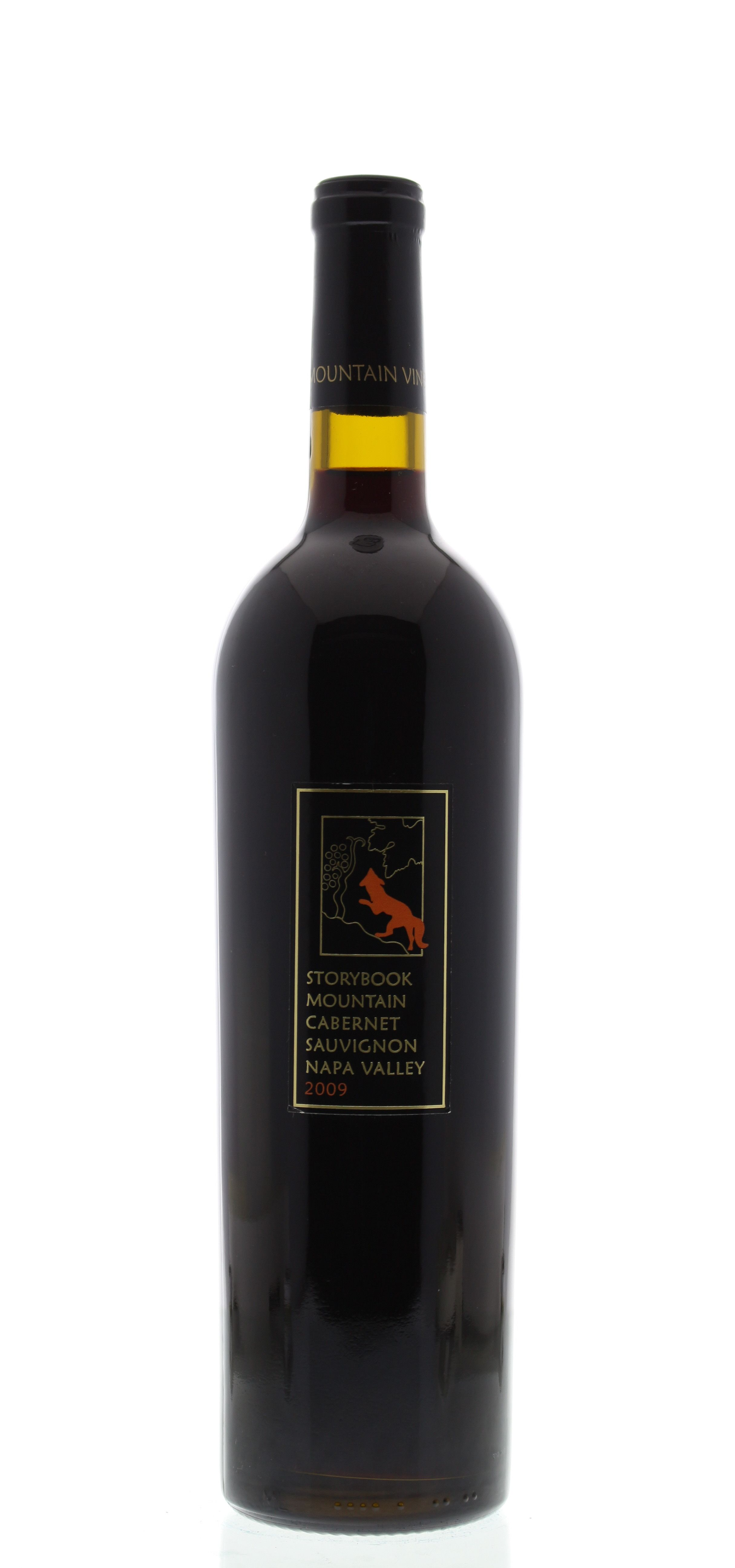 Storybook Mountain Estate Cabernet Sauvignon 2009 Front Bottle Shot