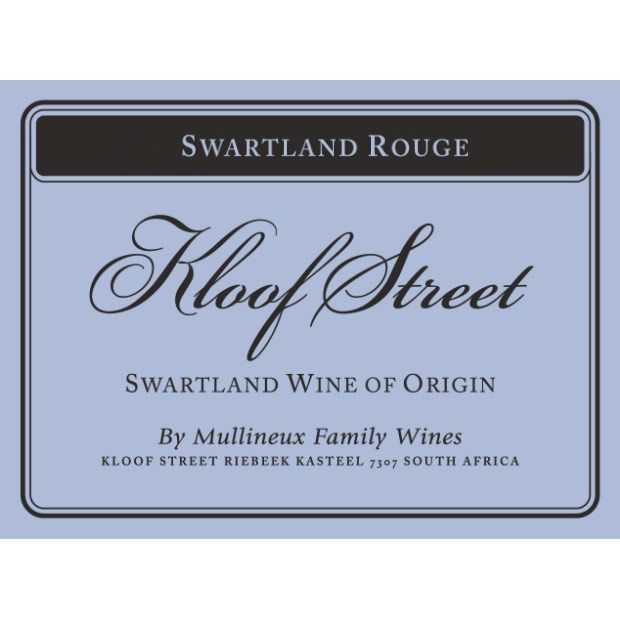Mullineux Family Wines Kloof Street Swartland Rouge 2012 Front Label