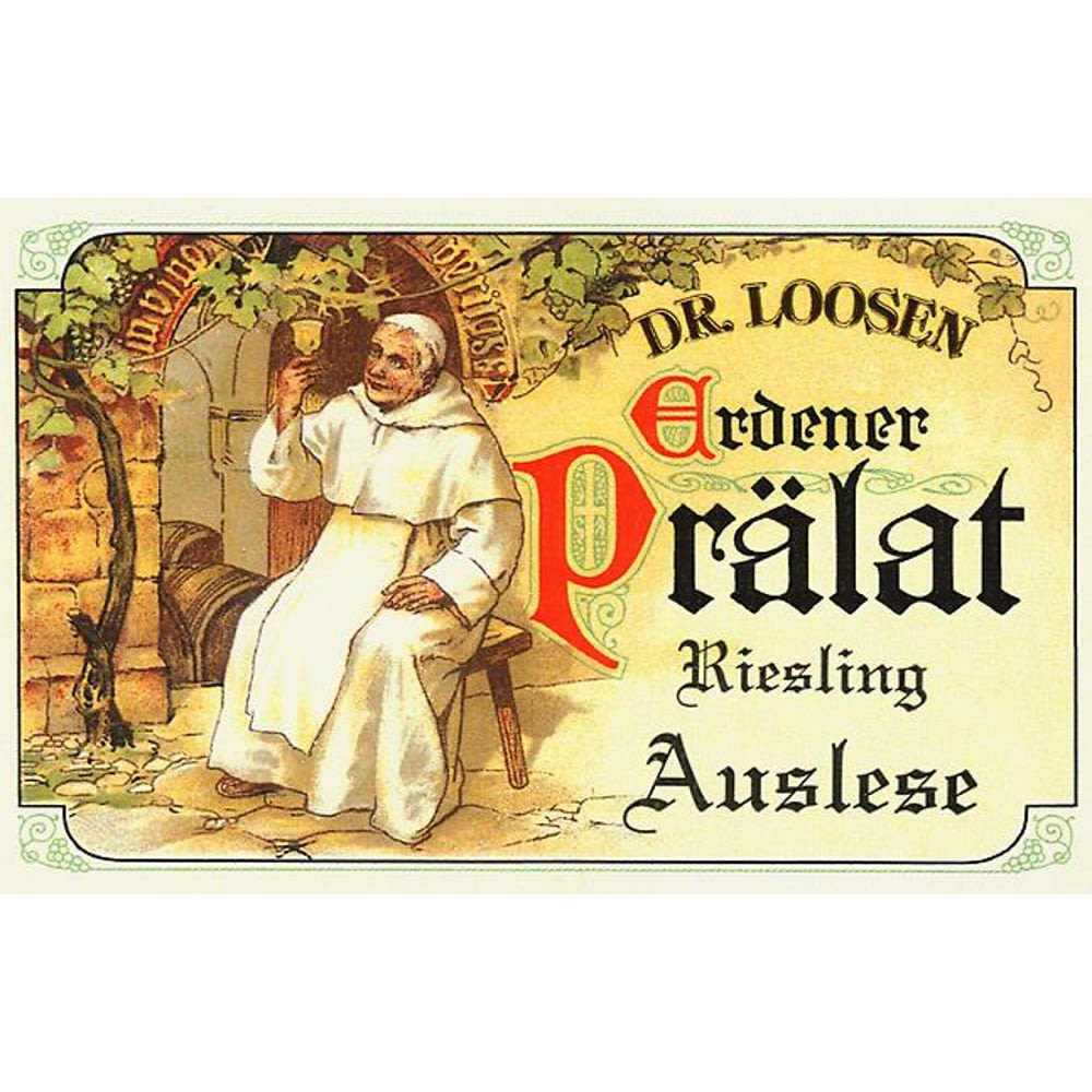 Dr. Loosen Erdener Pralat Auslese (375ML Half-bottle) 2005 Front Label
