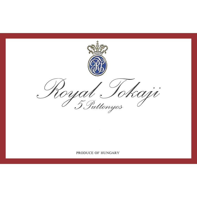 Royal Tokaji 5 Puttonyos (Red Label) (500ML) 2005 Front Label