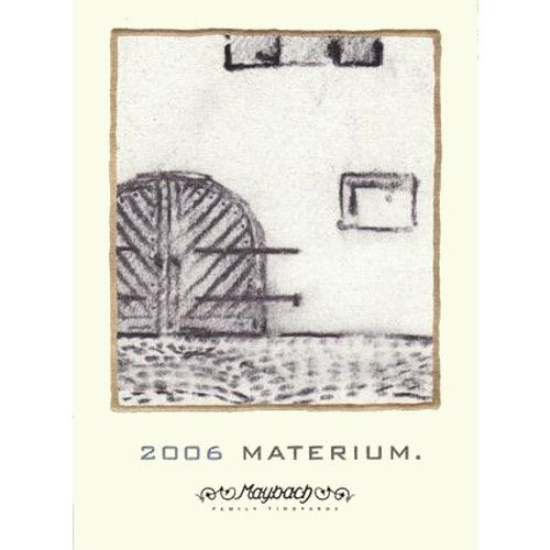Maybach Family Vineyards Materium 2006 Front Label