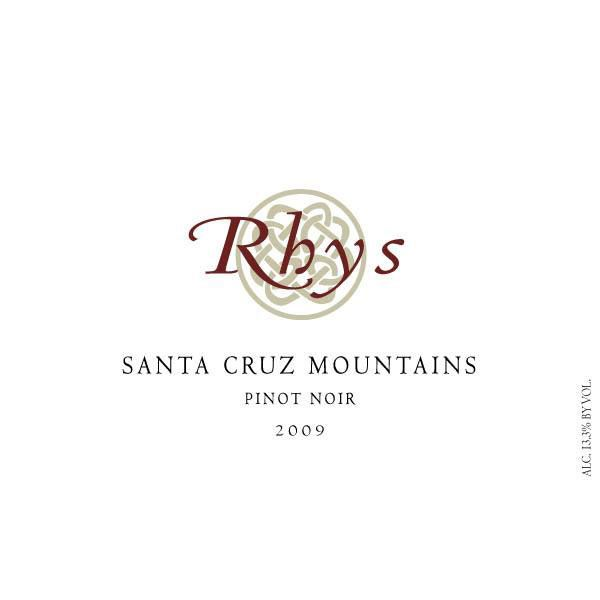Rhys Vineyards Santa Cruz Mountains Pinot Noir 2009 Front Label